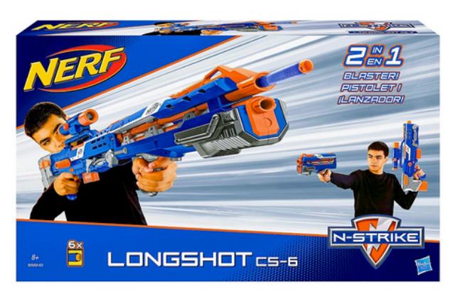 Hasbro B5540 Nerf Nerf Nerf N-Strike Elite Longshot CS-6 20be9d