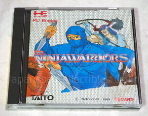 Details about NEC PC ENGINE Hu card NINJA WARRIORS TAITO Japan TG16 B