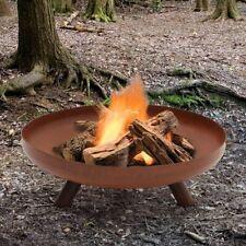 23/31/39/47 Inch Fire Bowl Firepit Wood Log Burning Heater Garden Patio Brazier