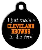 Anti Cleveland Browns - Custom Personalized Pet Id Tag For Dog And Cat Collars