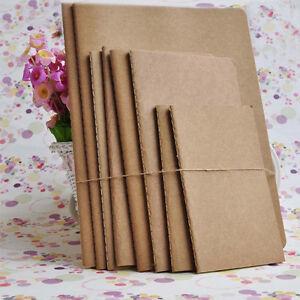 B5-Large-Kraft-Bulk-Plain-Sketchbook-Journal-Diary-Notebook-with-Blank-Paper-1PC