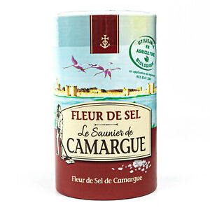 Le caldaie metano saunier De Camargue Fleur de Sel sale in 1 kg Barattolo-sale marino dalla Francia