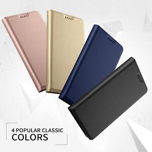 Pour-Huaiwei-Honor-Play-8X-9-10-Entreprise-Slim-Cuir-PU-Etui-Clapet-Portefeuille