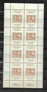 pk39550:Stamps-Canada #1900 Canada Post 150 Years 8 x 47