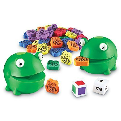 Learning Resources Froggy Feeding Fun Fine Motor Skills Game