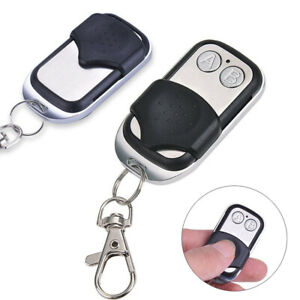 Simple 2-channel 433mhz Wireless Remote Control Key For Controling Garage Door 100% De MatéRiaux De Haute Qualité