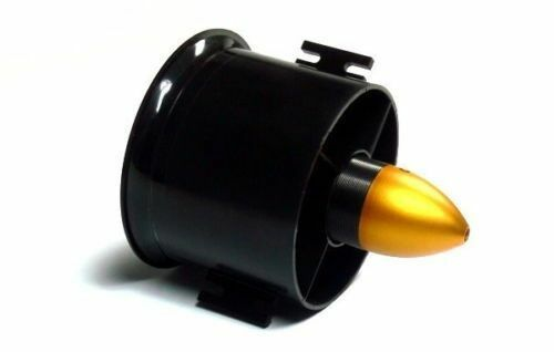 70mm Duct Fan 3000KV Brushless Outrunner Motor 6-Blade Prop RC EDF Jet AirPlane