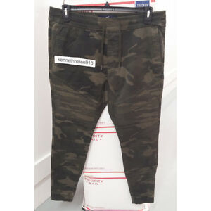 1ca82a1e08b36 Image is loading HOLLISTER-MENS-ADVANCED-STRETCH-TWILL-SUPER-SKINNY-JOGGER-