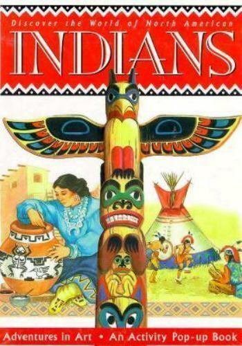 Discover the World of North American Indians with Paint Brush and Stamp Pad and