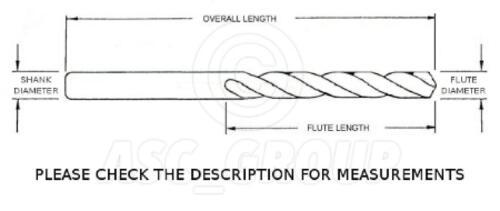 10 x 2.5mm Professional Drill Bits HSS-Co Cobalt Metal Plastic Wood