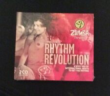 Zumba Fitness Rhythm Revolution Two CD Collection New And Sealed