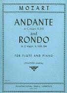 Mozart Andante C K315 & Rondo D K184 Rampal Flute-afficher Le Titre D'origine Design Moderne