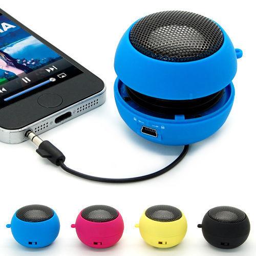 3.5MM Mini Hamburger Portable Speaker for iPad 2 3 4 5  iPhone 6/Plus iPod