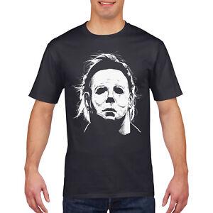 2ac897c6b2aeb7 Mike Myers Mask T Shirt Halloween Fancy Dress Movie Tshirt top Scary ...