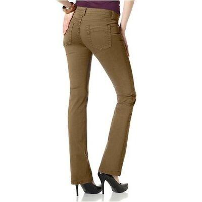 Laura Scott Jeans  NEU  Gr.32-46  Bootcut Damen Braun Coloured Hose Stretch L32