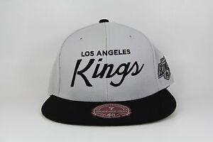 Los Angeles La Kings Mitchell Amp Ness Nhl Hockey Light Grey