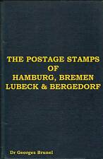 GERMAN STAMPS Hamburg Bremen Lubeck Bergedorf Germany Variety Reprint Forgery CD