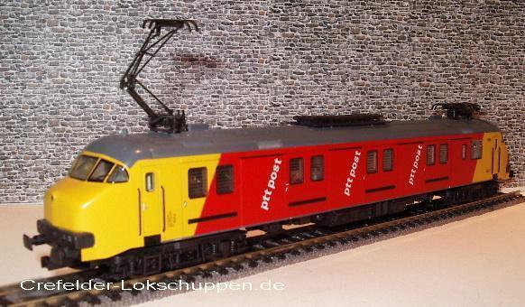 Märklin 3389 Post-Triebwagen NS   Ptt 3020 Nuovo&confezione Originale 2 Anni