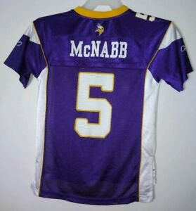 buy popular 78cd5 b7a87 YOUTH M(10-12) Donovan McNabb Minnesota Vikings RARE Reebok ...