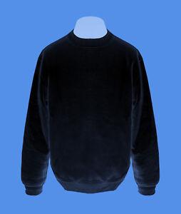 Pullover-Mann-Maenner-Sweatshirt-Herren-Pulli-navy-dunkelblau-L-XL-B-amp-C-unifarben