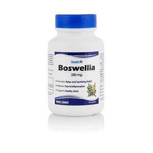 Boswellia Extract Serrata Shallaki 120 Caps 250 mg ayurvedic joint care BEST ONE