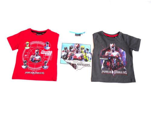 Ragazzi T-shirt Power Rangers 2-8 anni