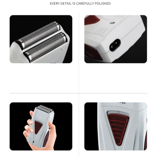 Clearance Men's Electric Shaver Hair Trimmer Razor Rechargeable Shaving Machine Wet / Dry  P5IVGQleo
