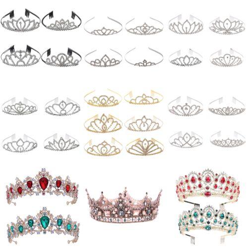 Wedding Prom Bridal Princess Rhinestone Tiara Crown Headband Hair Accessory Arde
