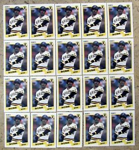 1990 Fleer #461 Barry Bonds Pittsburgh Pirates 20ct Card Lot