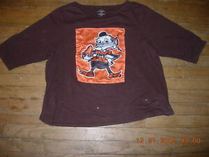 brand new a3af3 c2c90 Details about Cleveland Browns MEGA-ELF Youth XL HOCKEY Jersey,GR8  LOOK,NICE QUALITY,CHEEEEEAP