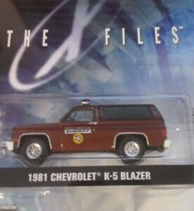 Greenlight The X Files 1981 Chevrolet K-5 Blazer 1/64