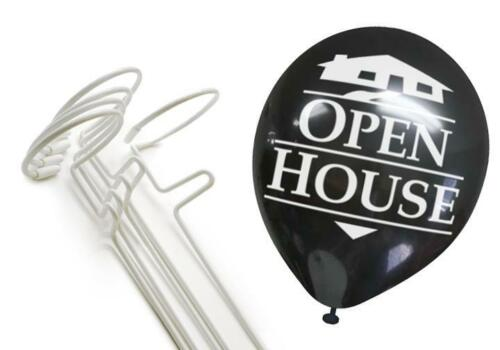 Balloonie Kit w// Open House Balloons 5 Stands and 25 Balloons