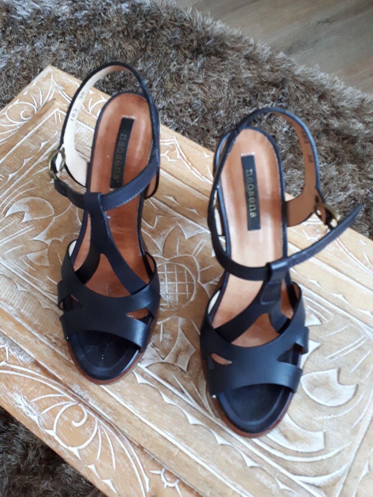 Neosens Neosens Neosens Sandale schwarz Größe 38 NEU, Super günstig 6cd1dc