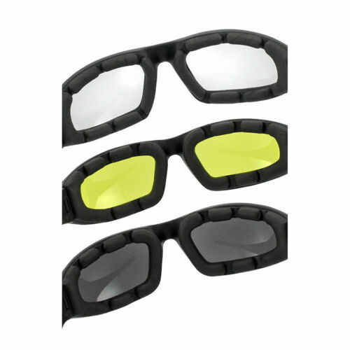 3XMotorcycle Riding Anti Wind Sand Eye Protection Glasses Bike Cycling Outdoor