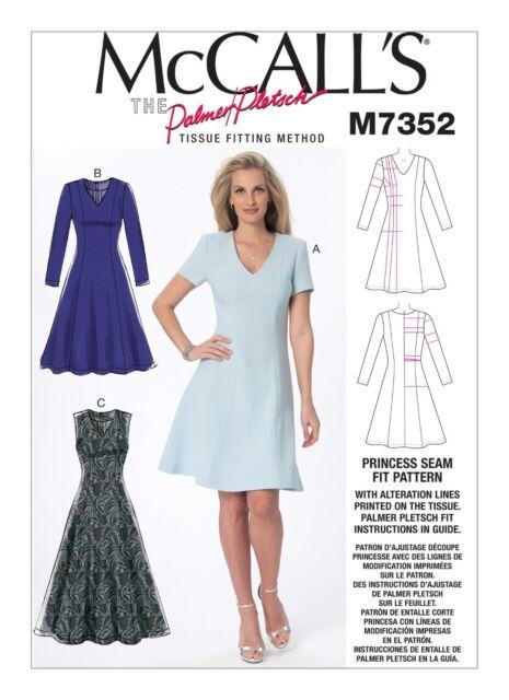 Mccall's Sewing Pattern Princess Seam Fit Dresses Dress Size 40 40 Delectable Princess Seam Dress Pattern