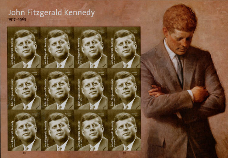 2017 49c John Fitzgerald Kennedy, 35th President, Spieg