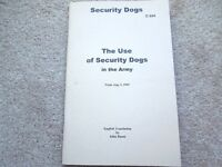 Ww2 German Army Security Dogs And How To Use Them Book 1943 English Translation
