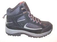Croft & Barrow Harrison Boots Men's Hiking Boots Black Suede Size 8.5