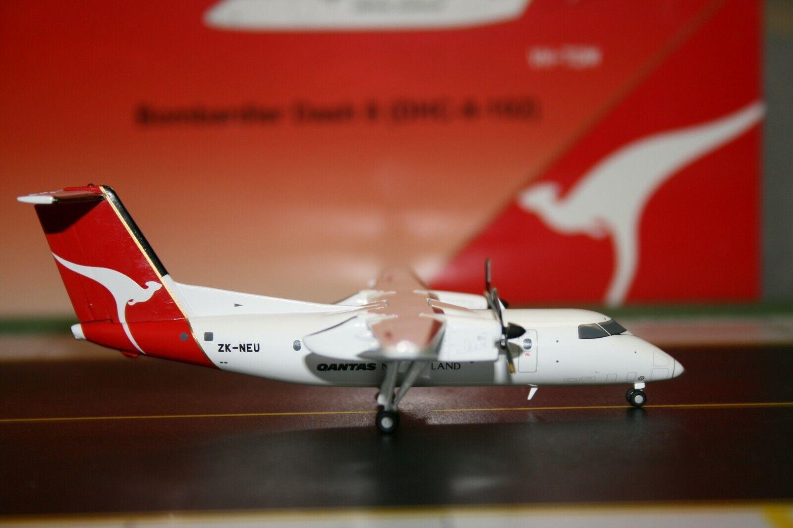 punto de venta Jc Wings 1 200 Qantas New Zealand Dash Dash Dash - 8-100 Zk-Neu (XX2585) modelo de avión  tienda en linea