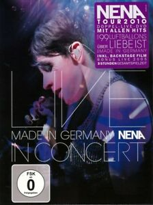 Nena-Made-in-Germany-LIVE-IN-CONCERT-2-DVD-NUOVO