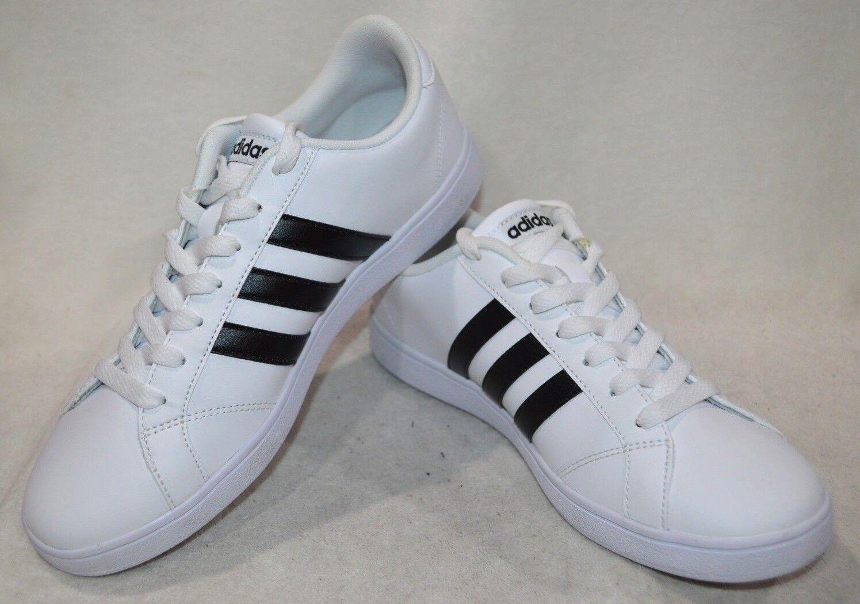 Adidas NEO Baseline White Black Women's Sneaker - Size 9.5 10 11 NWOB AW4409