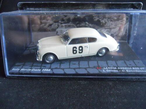 Chiron P Rally Model Car IXO 1:43 LANCIA AURELIA B20 GT Monte Carlo 1954 L