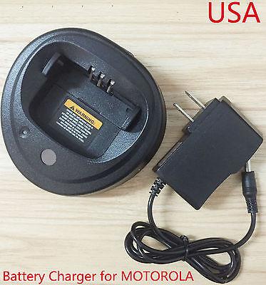 12V 24V Car DC Charger Base Dock For Motorola Radio CP360 CP380 EP450 GP3688