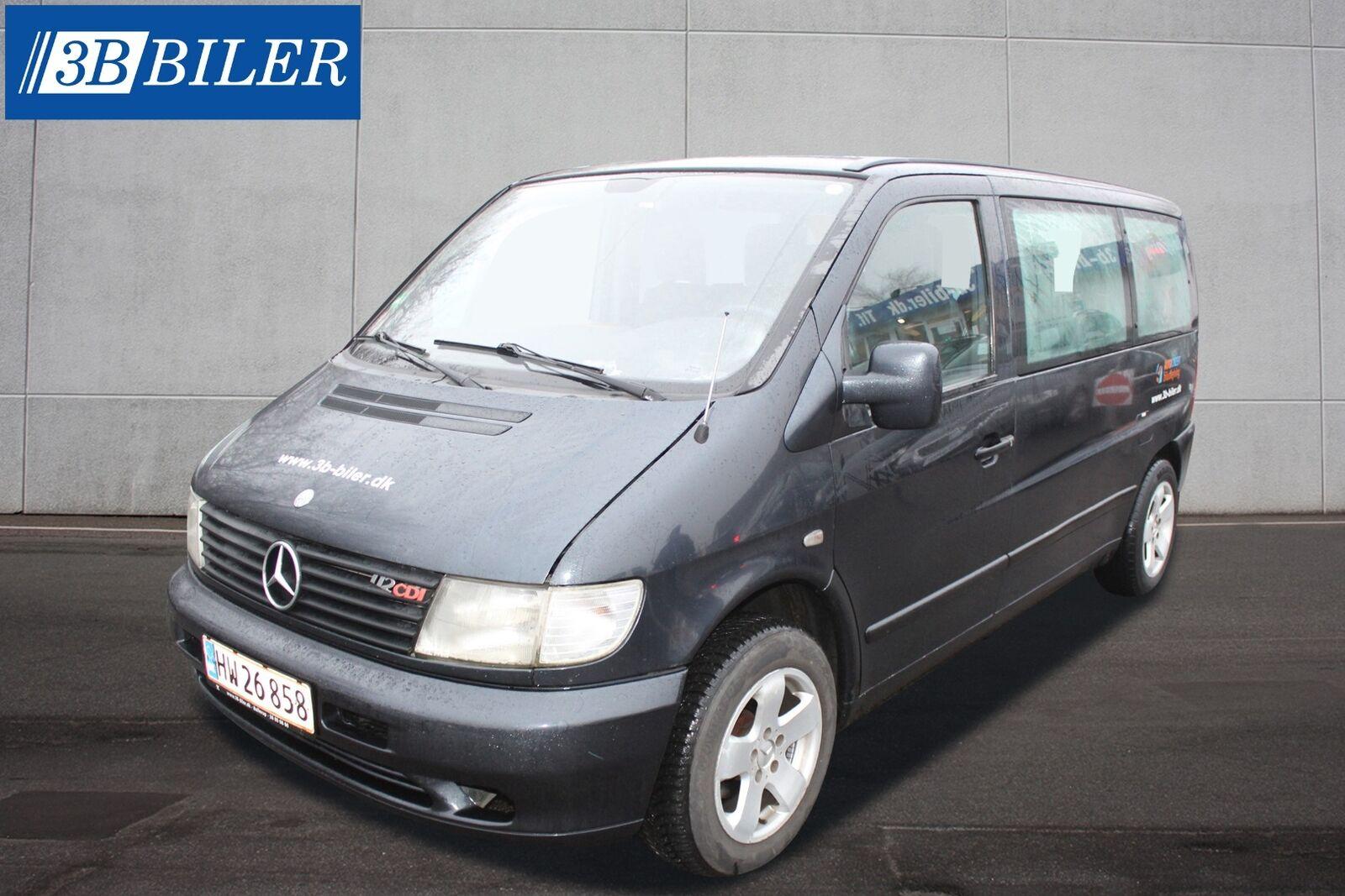 Mercedes Vito 112 2,2 CDi aut. 9prs 4d