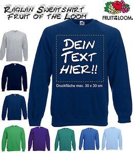 timeless design a30d2 a87df Details zu Sweatshirts bedrucken, Pullover individuell bedrucken lassen