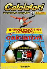 CALCIATORI PANINI=1967/68=RISTAMPA INTEGRALE DELL'ALBUM=SERIE ABCD=CALCIO MOND.