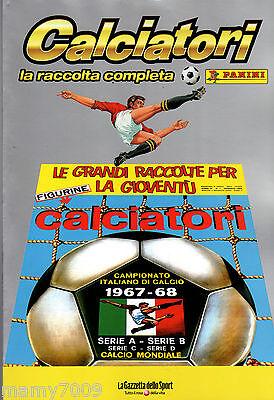 ALBUM CALCIATORI RISTAMPA L/'UNITA/' ANNO 1967-68