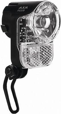"Axa LED Headlight /"" Pico 30 Steady Switch Senso /"" for Hub Dynamo"