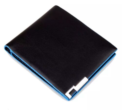 Mens Luxury Wallet Stylish Synthetic Leather Wallet Card Holder Gents Wallet  UK