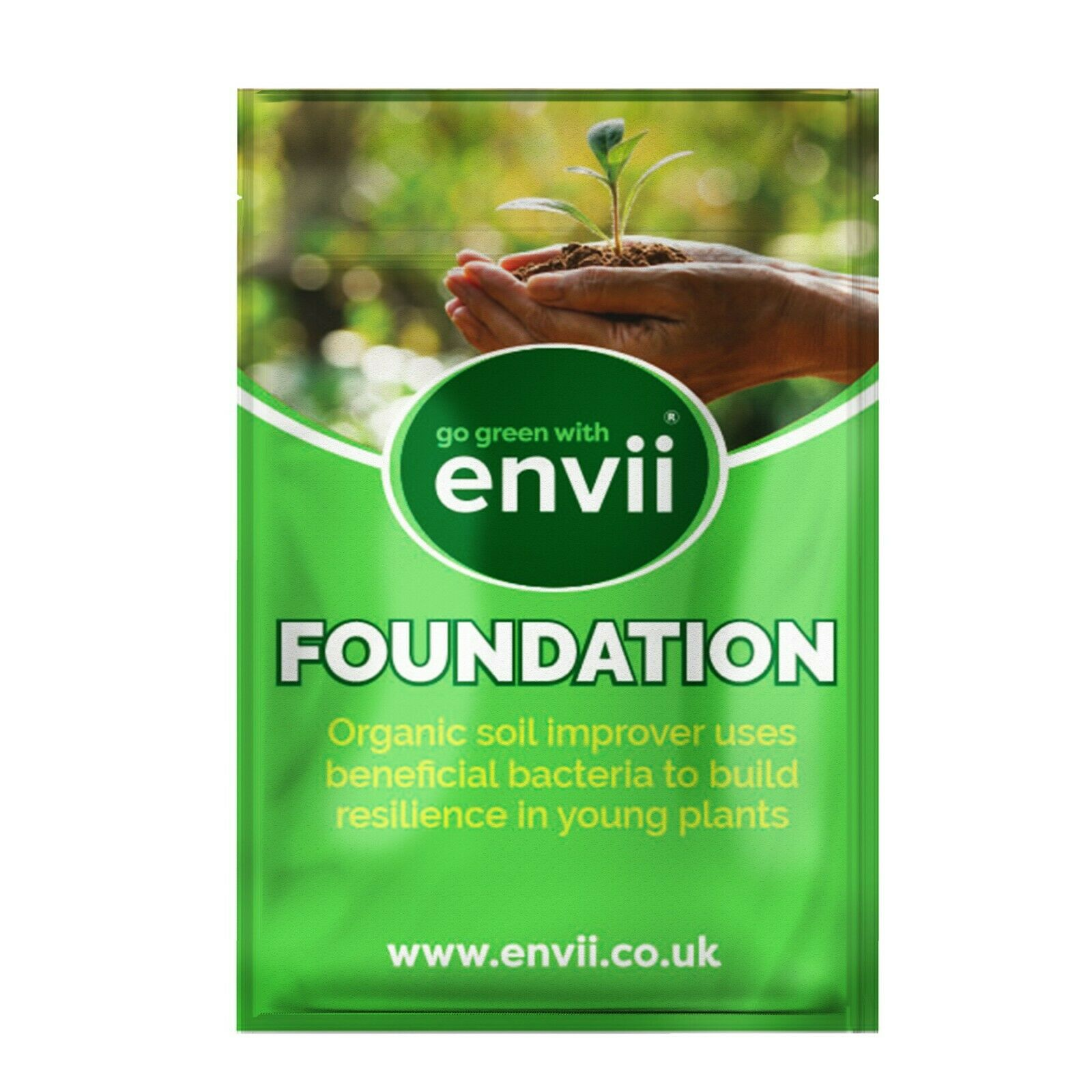 Envii Foundation – Mycorrhizal Fungi Soil Conditioner & Enhancer Protects Plants